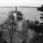 Ångbåtstrafiken och Älvnäs brygga